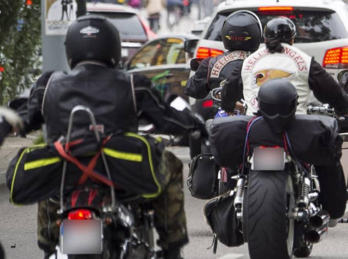 Hells Angels ger sig in i flyktingdebatten. Foto: Suvad Mrkonjic
