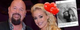 Anders Bagges kärleks- bild med flickvännen