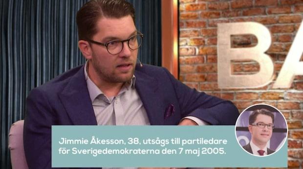 """Åkesson om att fälla en Allians-regering: """"Utesluter ingenting"""""""