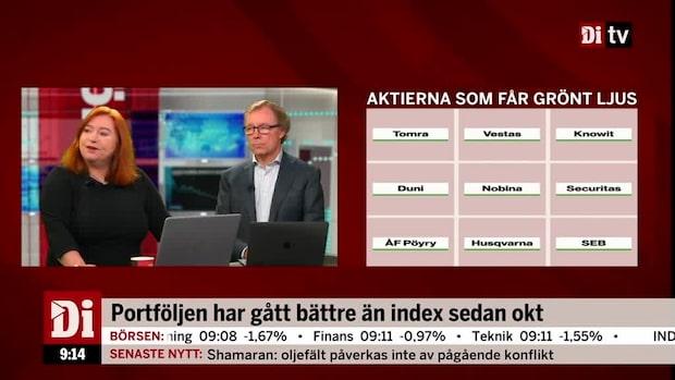 Jönsson: Tomra och Vestas upp 27 procent vardera