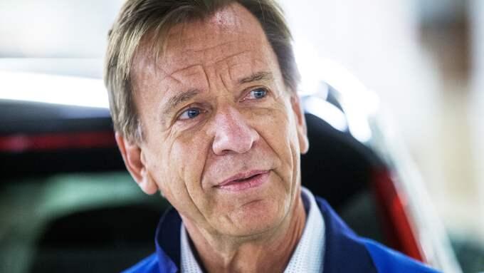 Håkan Samuelsson, vd och koncernchef ,Volvo Cars. Foto: ANDERS YLANDER / ANDERS YLANDER GT/EXPRESSEN