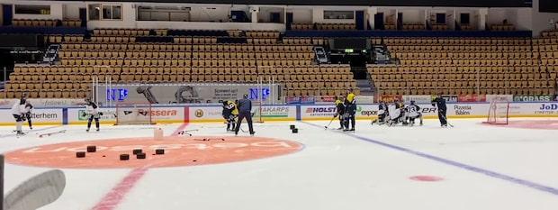 """Kallas """"världens bästa 15-åring"""" –  här tränar han med HV71"""