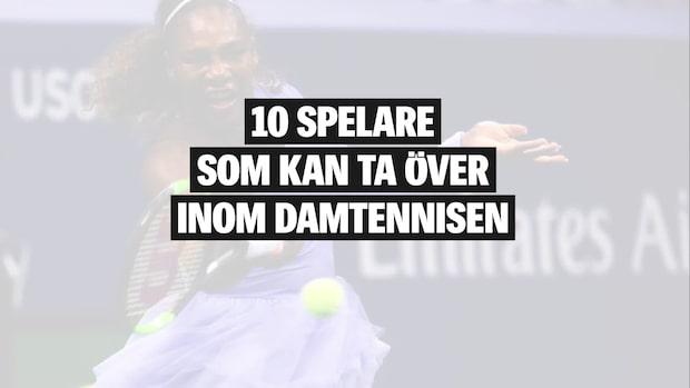10 spelare som kan ta över på WTA-touren