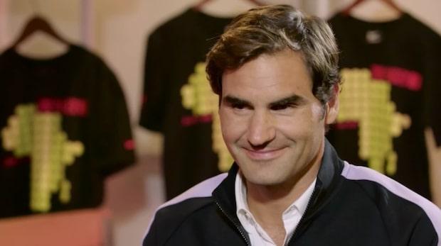 Federer ställd av Sjarapova-frågan