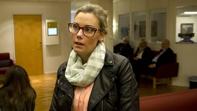 """Therese Tang är den självklara huvudpersonen i podcasten """"Spår"""". Utan henne hade fallet fortfarande varit olöst. Foto: ANNA HÅLLAMS"""