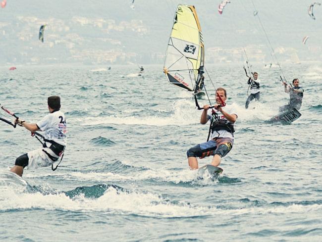 Bli ett med vindarna på Gardasjön.