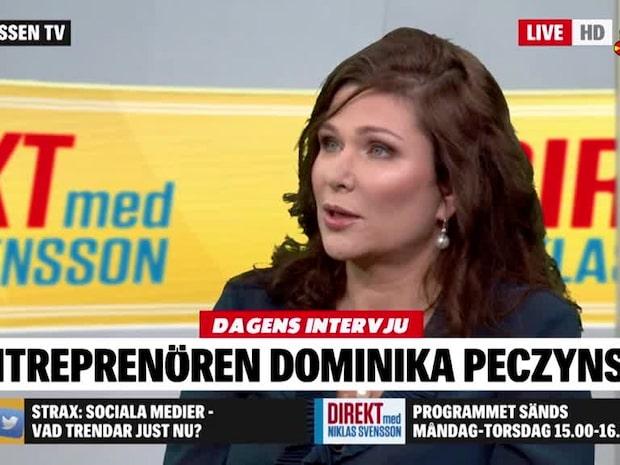 Dominka Peczynski om första mötet med Anders Borg