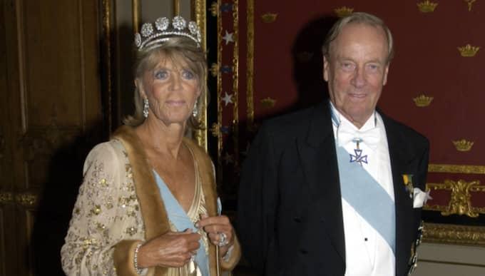 "Prinsessan Birgitta med maken ""Hansi"" Johann Georg prins von Hohenzollern. Foto: Stefan Lindblom"