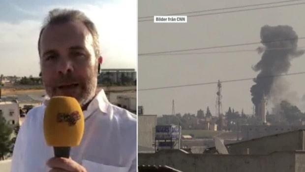 Kassem Hamadé direkt från turkisk-syriska gränsen