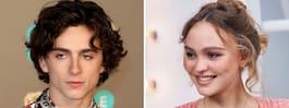 """Skådisen om bilderna med Lily-Rose Depp: """"Generad"""""""