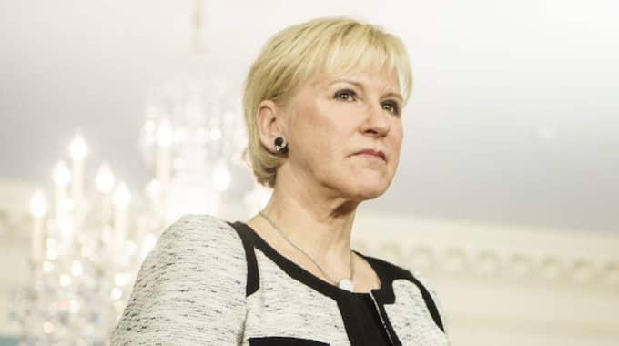 Margot Wallström. Foto: Axel Öberg