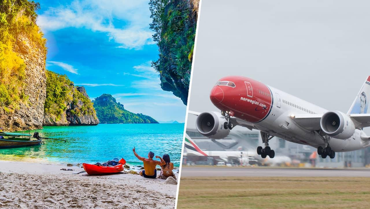 flyga med gips norwegian