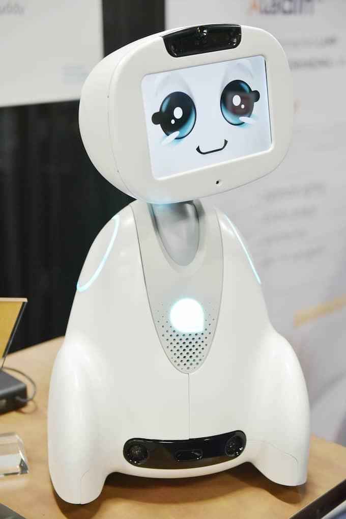 Robot som kompis. Foto: MANDEL NGAN / AFP