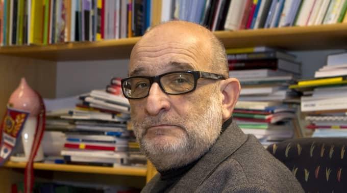 """Kriminologen Jerzy Sarnecki kallar Peter Springares sätt att se verkligheten för """"enögt"""". Foto: Ylwa Yngvesson"""