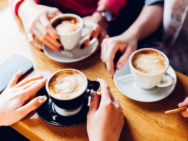 Hur många koppar kaffe dricker du varje dag?