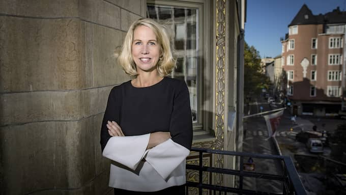 Helena Stjernholm är vd på Industrivärden. Foto: Magnus Hallgren / DN / TT NYHETSBYRÅN