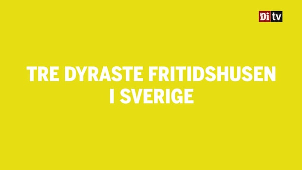 Här är Sveriges dyraste fritidshus