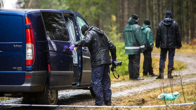 Polisen är nu helt säkra på att det var mannen som mördade kvinnan i 60-årsåldern. Foto: HENRIK JANSSON / GT/EXPRESSEN