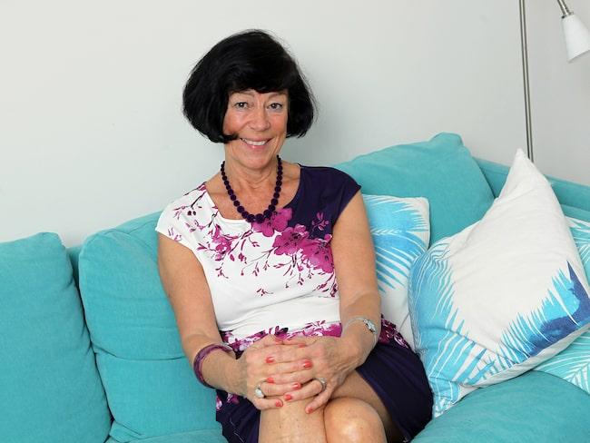 """""""Jag var aldrig hungrig utan åt god mat. Att jag inte behövde räkna kalorier var ett stort plus"""", säger Anette Borg, 70, som gick ner drygt 3 kilo med nya hälsoappen Wellie."""