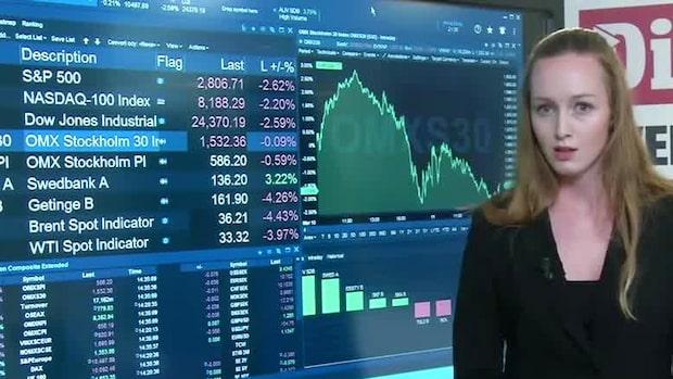 Marknadskoll: USA-börserna inleder handelsdagen nedåt
