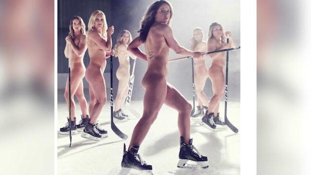 Hårda kritiken efter nakenbilderna