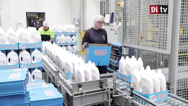 Europas första fabrik för återvunnen plast