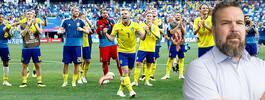 Som spelare är den svenska festen slut