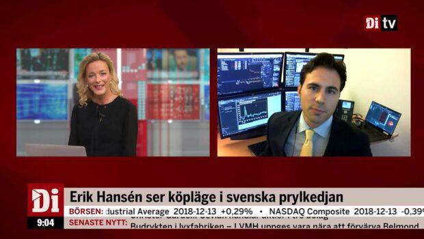 """Börsmäklaren om svenska prylkedjan: """"Kan överraska positivt"""""""