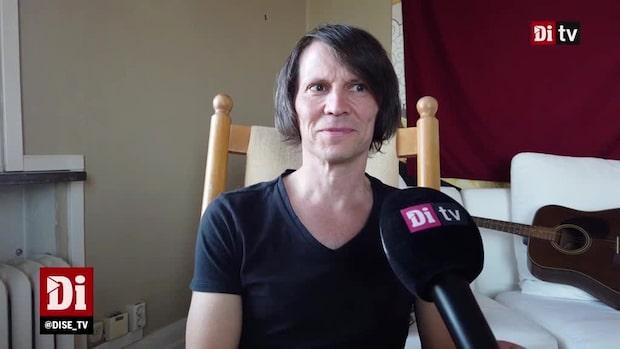 Di Weekend har träffat artisten Jakob Hellman