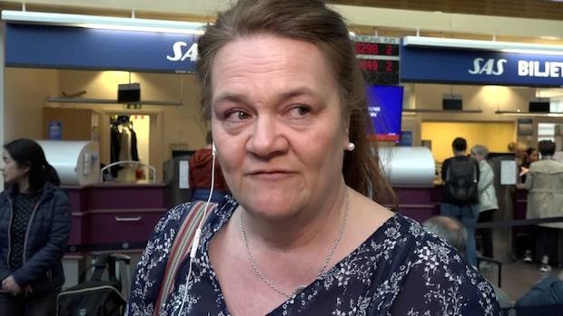 """Eva Frisk drabbad av strejken: """"Känns surt"""""""
