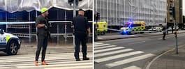 JUST NU: Tre personer  skadade i skottlossning