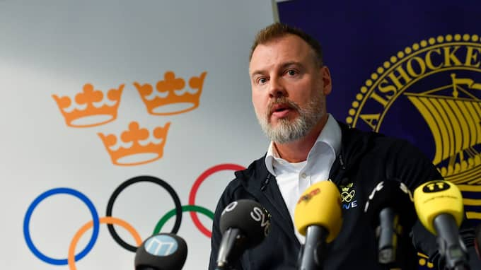 Rikard Grönborg, förbundskapten. Foto: JONAS EKSTRÖMER/TT / TT NYHETSBYRÅN