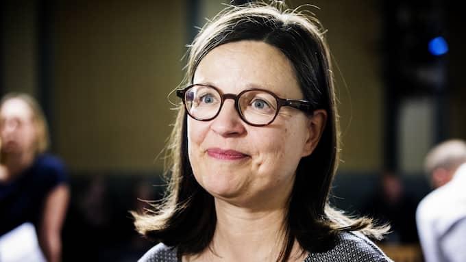 ...tillsammans med gymnasie- och kunskapslyftsminister Anna Ekström (S). Foto: OLA AXMAN / /IBL