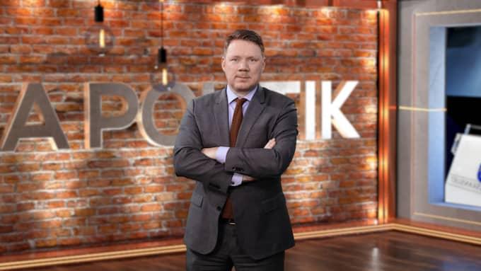 """""""Bara politik"""" leds av Expressens politikreporter Niklas Svensson."""