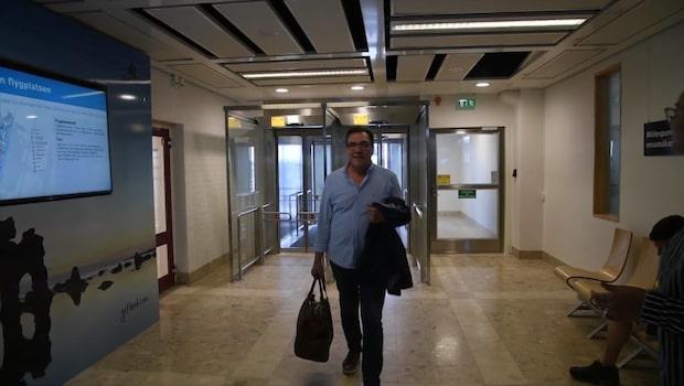Christer Sjögren har landat