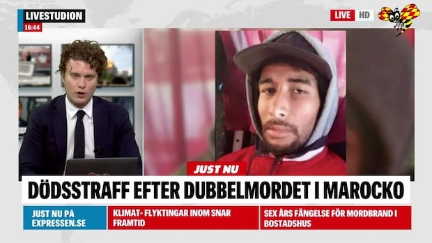 Dödsstraff efter dubbelmordet i Marocko