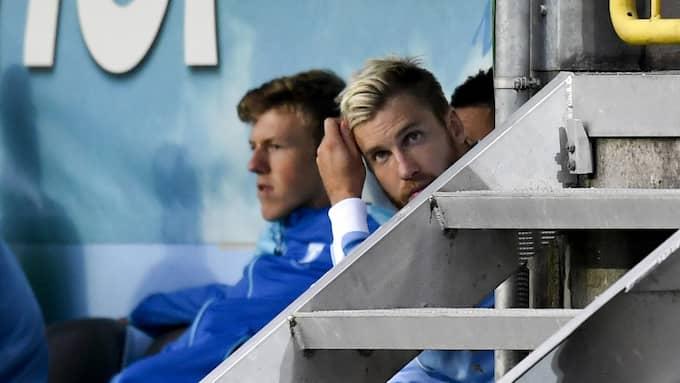 Rasmus Bengtsson tvingades kliva av i derbyt mot Helsingborg förra säsongen. Foto: PETTER ARVIDSON