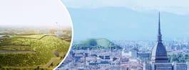 Nytt hopp – konstgjort berg som äter luftföroreningar