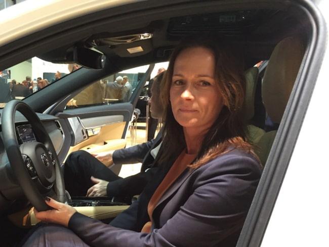 Jessica Span är försäljningsdirektör för Volvo i Sverige.