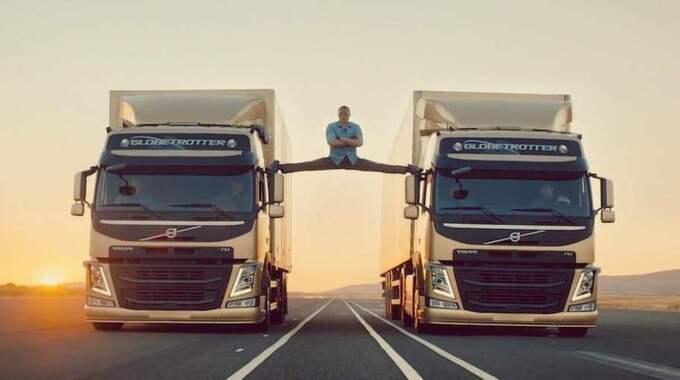 Forsman och Bodenfors reklamfilm för Volvo Lastvagnar, med actionstjärnan Jean Claude van Damme i huvudrollen är med på tio i topp.