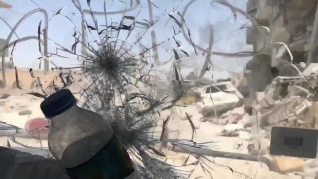 Minidokumentär djupt inifrån Raqqa gamla stad