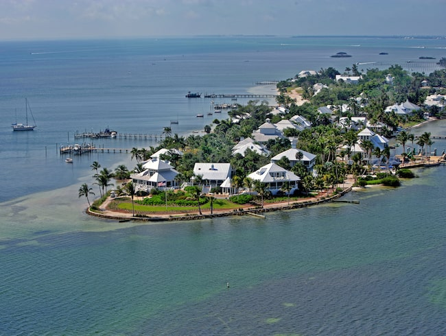 Useppa Island är en av världens främsta öresorter, enligt Conde Nast Traveler.