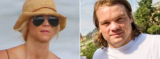 Douglas Murray spelar i NHL-laget San José Sharks och sägs vara Elin Nordegrens nya kärlek. Foto: All over press/Christoffer Hjalmarson