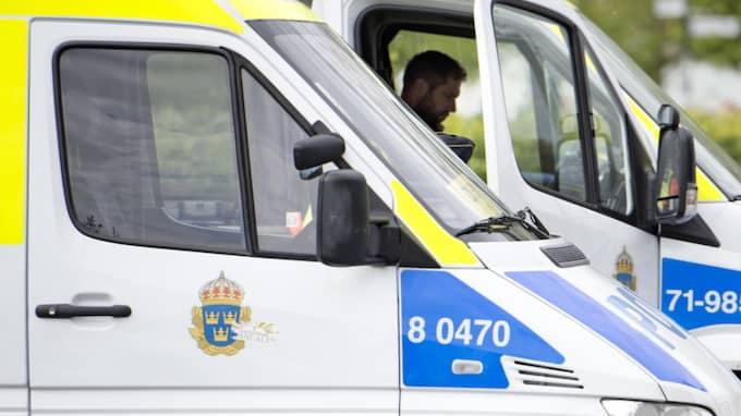 Under onsdagen och torsdagen slog Nationella insatsstyrkan till mot flera adresser i Mellansverige. Foto: Ludvig Thunman / BILDBYRÅN