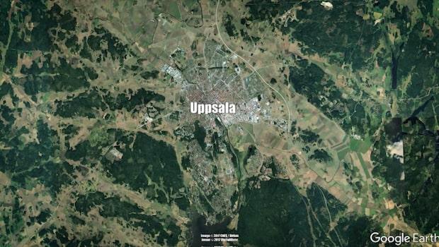 Kvinna hittad död i centrala Uppsala