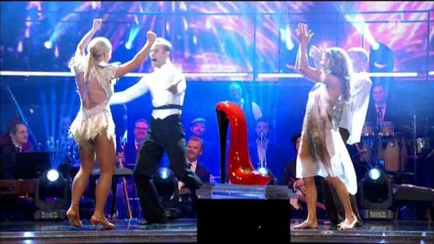 """Svenska folket röstade fram Kristin Kaspersen till vinnare av """"Let's dance"""" 2019"""
