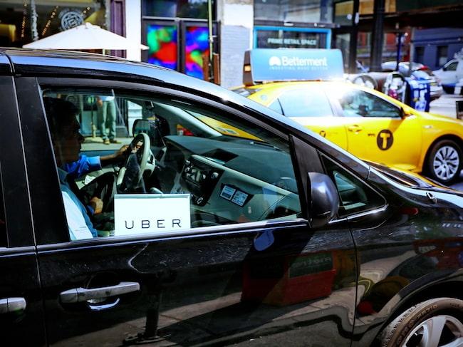 Uber blev ett hårt slag mot New Yorks gula taxi.