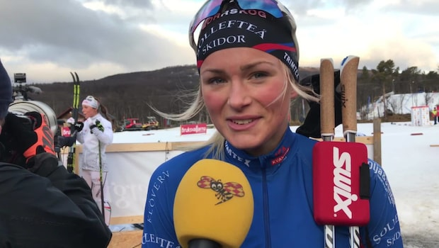 Frida Karlssons succé - blev tvåa bakom Charlotte Kalla