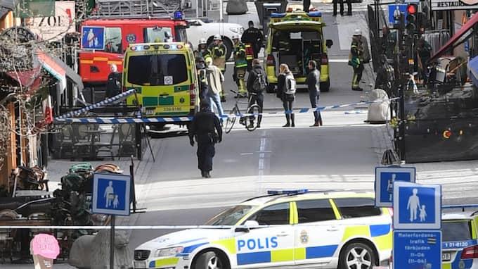 """Leif GW Persson tycker att det låter """"väldigt konstigt"""" att terrorattacken kan ta ett år att utreda. Foto: Fredrik Sandberg/TT"""