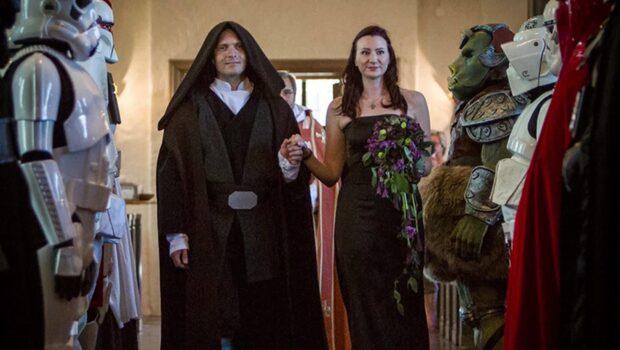 Snacka om stjärnbröllop - i Star Wars-anda